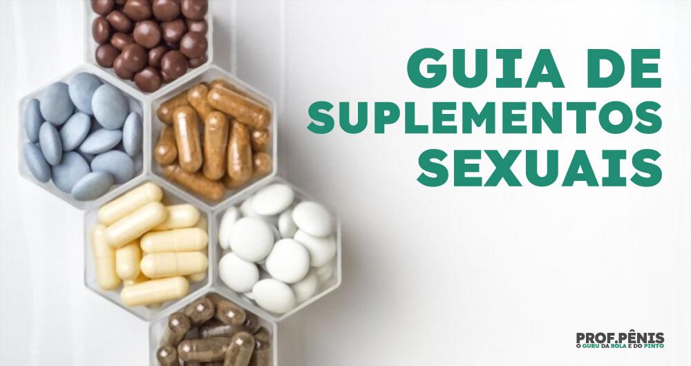 Guia de suplementos Sexuais